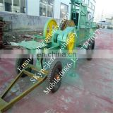 Factory price big horizontal mobile square maize straw / hay / grass baler