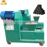 smokeless coconut shell wood charcoal stick making extruder machine