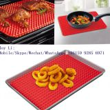 Custom Non-stick Pyramid Pan Fry Non Stick Oven Pad Silicone Baking Mat  whatsapp: 8615992856971