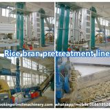 Rice bran oil production machine with complete rice bran oil solvent extraction process