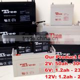 CE MSDS Factory directly sale solar battery 12v 300ah agm deep cycle battery