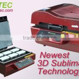 3D Multifunctional Sublimation Heat Press Machine/3D Vacuum Sublimation Heat Transfer Machine/Iphone case Vacuum Press