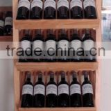 Antique high quality handmade new arrive custom 8 bottle wooden wine rack                                                                                                         Supplier's Choice