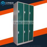Heavy Duty Durable Powder Coated Cold Rolled Steel Storage Lockers Big Discount School Locker