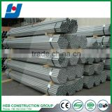 Made In China Hot Dipped Galvanized Steel Tube Pipe/gi Round Steel Pipe/tube Welding Structure Building Material