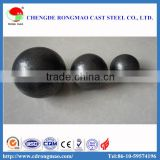 Low chrome ball cast grinding ball in ball mills of mine, ore dressing with good impact toughness and performance
