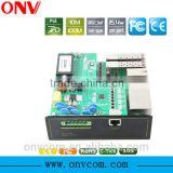 cctv camera system Industrial POE Ethernet switch 1000M Industrial poe switch 24V