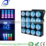 4Pcs/Lot 16 Heads 30W COB RGB LED Wall Washer Stage Lights Pixel Panel Matrix Blinder Light 4x4 Slim LED 3 in 1 Matrix Night Clu