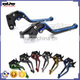 BJ-LS-011 Blue CNC Aluminum Long Clutch Brake Lever Set for yamaha MT09