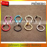 Color invisible ear clip huggie No pierced clip-on earrings Nose rings navel ring