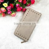 Hot Custom Gift Manufacturer Style PU Leather Lady Long Woman Wallet