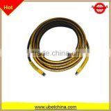 Alibaba DN 6with linen surface for washing / cleaning machine hydraulic high pressure wire braided rubber hose price
