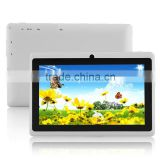 White With GPS WIFI Bluetooth Phone For Android 4.4 Core 7 inch Tablet PC