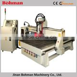 BM-1325 wood cnc router with atc with 9KW Air cooling HSD spindle and best price hot sale!