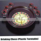 Drinking Roulette/Roulette drinking game set/drink roulette/ metal bingo shot drinking game