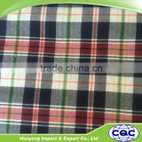 latest design cotton madras plaid scarf fabric