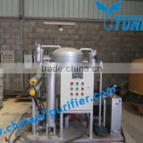 Yuneng Top Brand Vacuum Oil Purifier /Lube Oil Purifier/Lubricating Oil Purifier For Used Oil Reuse