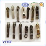 ykk metal zipper slider
