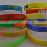 new design cheap silicone braclet, custom shape silicone wristband rubber band, custom silicone bracelet whosale                                                                         Quality Choice