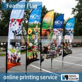 Any Size Custom Brand Logo Feather Teardrop Square Polyester Print Knife Flag Show Flag Display Advertising Flag                                                                         Quality Choice