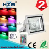 High Power Super Bright RGB 20W LED Flood Light ip65 Outdoor Flood Light With Factory Wholesale Price