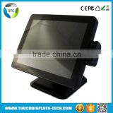 Stock new 15 lcd projected capacitive Desktop True Flat touch screen monitor