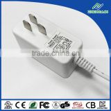 New arrival power transformer AC to DC adapter 12V 1A din rail adapter with white case