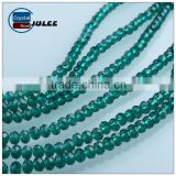 Factory Wholesale nigeria beads 4mm Crystal Loose Beads rondelle beads for Jewelry Making                                                                                                         Supplier's Choice