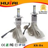 NO FAN headlight/fog light h1,h3,h4,h7,h8,h9,h11,9004,9005,9006,9007,880,881,hb3,hb4 led auto h4 12v 100w led headlight