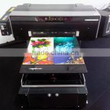 Flatbed Printer, wood, glass, crystal, ABS, acrylic, metal, stone,leather, cotton/digital flatbed glass printer