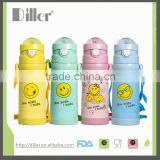 Cartoon Water Bottle Children vacuum flask with thermometer