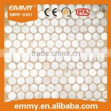 oyster round white mother of pearl shell mosaic tiles home wall decoration
