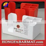 bar accessories, mutifunctional plastic bar caddy                                                                         Quality Choice