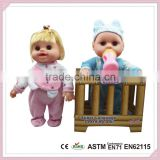 Chinese Wholesaler Toys For Kids 2015 Hot Sale Baby Doll With Crib Baby Doll