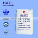 industrial grade zinc oxide with 99.7%
