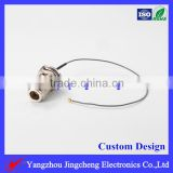 N female with bukhead to U.FL(IPX) connector for 1.13 cable,cable assembly ,patch cord ,pigtail