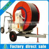 New condition Hose reel farm irrigation equipment with spary gun