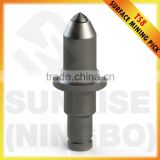 TS8 Tungsten carbide surface miner tools coal miner drill surface mining drill bits