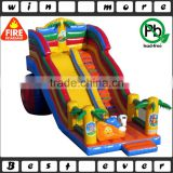 hot sale giant commercial used outdoor inflatable slide prices, kids animal toy playground for sale