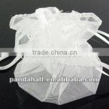 White Organza Candy Bags for Packaging(OP002Y-1)