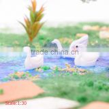 model animal for HO scale, 1/87 scale swan, model animals plastic, model animal in action figure, scale model animals
