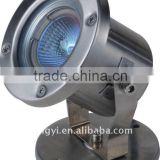 stainless steel LED fountain light low voltage