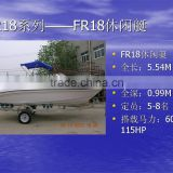 UF18 fiberglass high speed small cabin outboard engine yacht                                                                         Quality Choice                                                     Most Popular