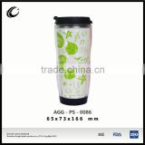 hot sale promotional advertising cup tableware water plastic cup with logo design plastic smoothie cups with lids