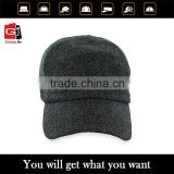 2105 Hot design China mainland cap manufacturer custom wool fold down baseball caps wholesale                                                                         Quality Choice