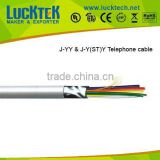 Indoor and outdoor J-YY & J-Y(ST)Y ,CW1308 telephone cable with UL approval