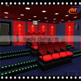 hot sale 5d cinema 5d theater cabin 5d cinema box design and decoracion 6dof motion 5d cinema equipment theater chair