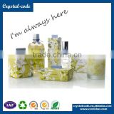 Product sticker home care self adhesive shampoo label