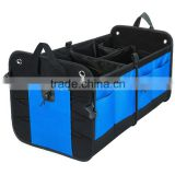 Adjustable Compartments Premium Quality Auto Trunk Organizer