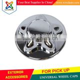 ABS WHEEL CENTER CAPS FOR PICK UP SERIES 4X4 4WD UNIVERSAL WHEEL CAPS CHROME WHEEL COVER STAR STYLE